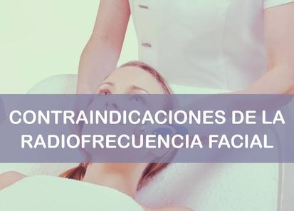 Efectos secundarios y contraindicaciones de la radiofrecuencia facial