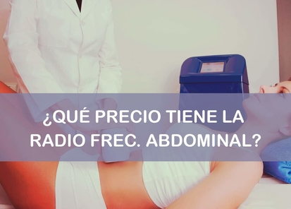 Radiofrecuencia abdominal precio